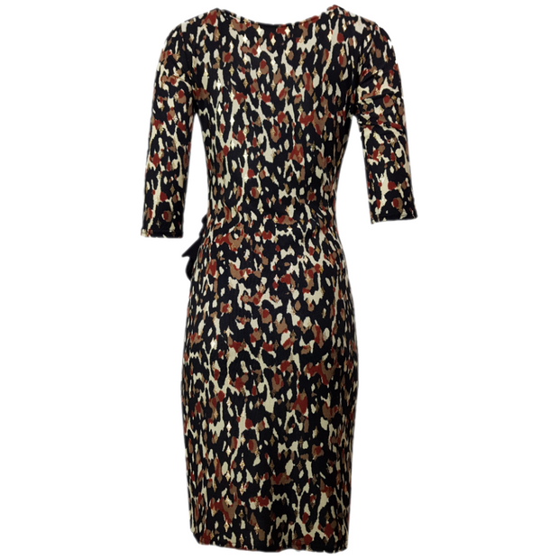 Agathe animal printed dress