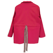 High stand up collar Jacket