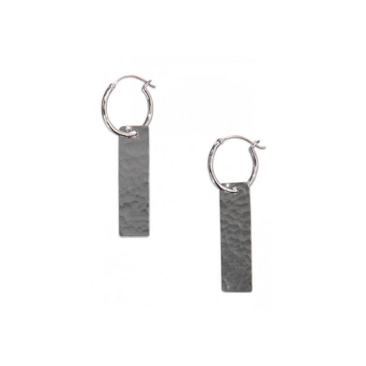 Hammered earring