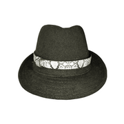 Black/Sneak Fedora hat