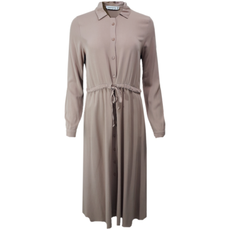 Maxi Shirt Dress With Pockets