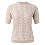 Structure Knitted Sweater