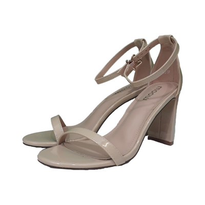 High Heel Nude Sandal