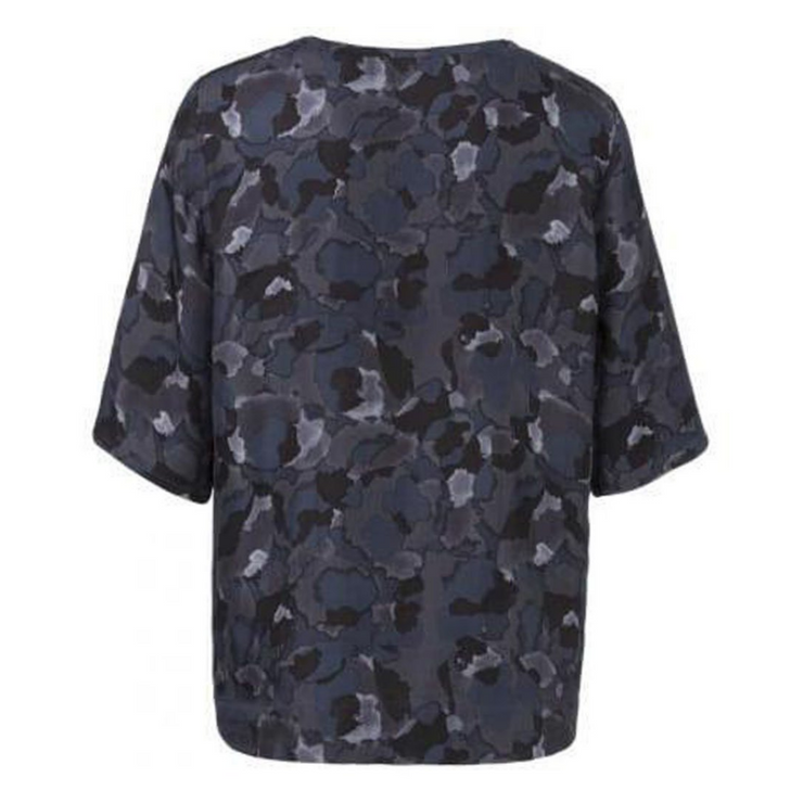 Camouflage Print Top Dessin