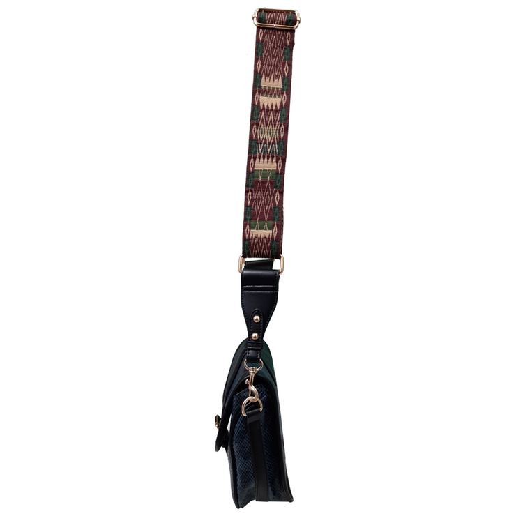 Multi Colour Snake skin shoulder bag