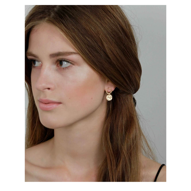 Amber Simple Earring N14