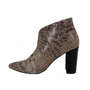 Sneak Print Ankle Boots