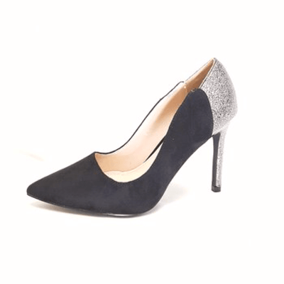 Black Court Shoe by Moow