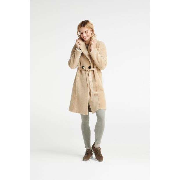 Wool teddy coat