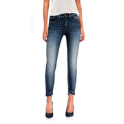 Secret Glamour Push In Capri Premium Wash Jeans by Salsa