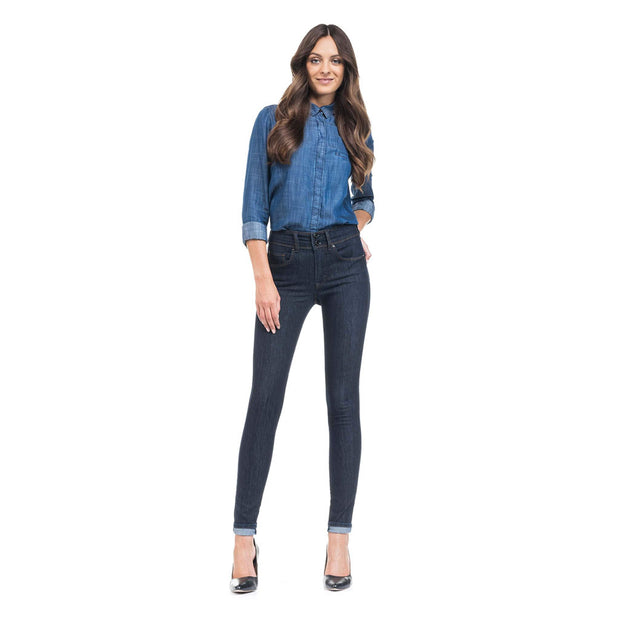 Blue Slim fit Push in Secret Jeans by Salsa