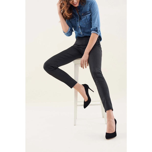 Wax Effect Jegging Jeans by Salsa
