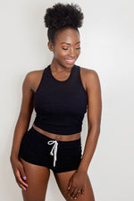 Rockingnheels knitted black Two Piece (Front)