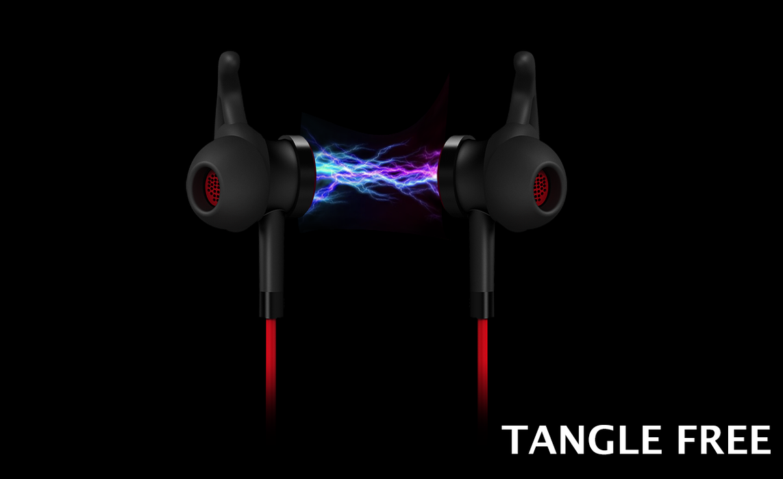 NeoFlow feature 2: Tangle free magnetic earphones. Better then apple wired earphones.