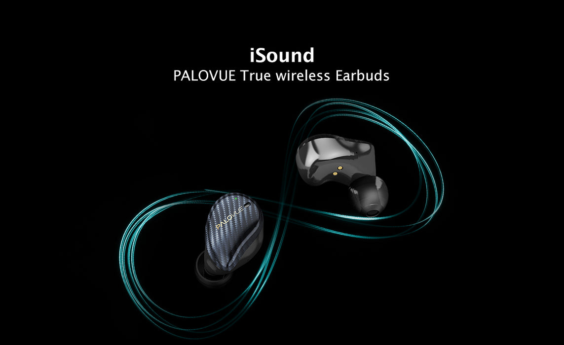 PALOVUE true wireless earbuds: iSound