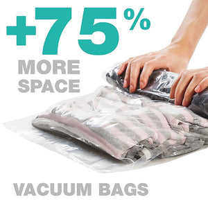 Hand Rolled Compression Vacuum Bag