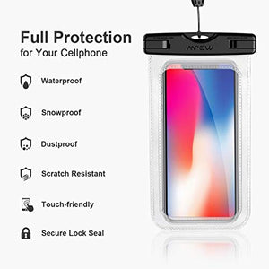 Waterproof Case Pouch for iPhone and Andriod