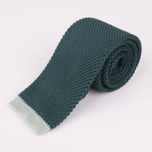"Nomadic Gentleman ""Dipped"" Knitted Tie"