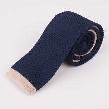 "Load image into Gallery viewer, Nomadic Gentleman ""Dipped"" Knitted Tie"