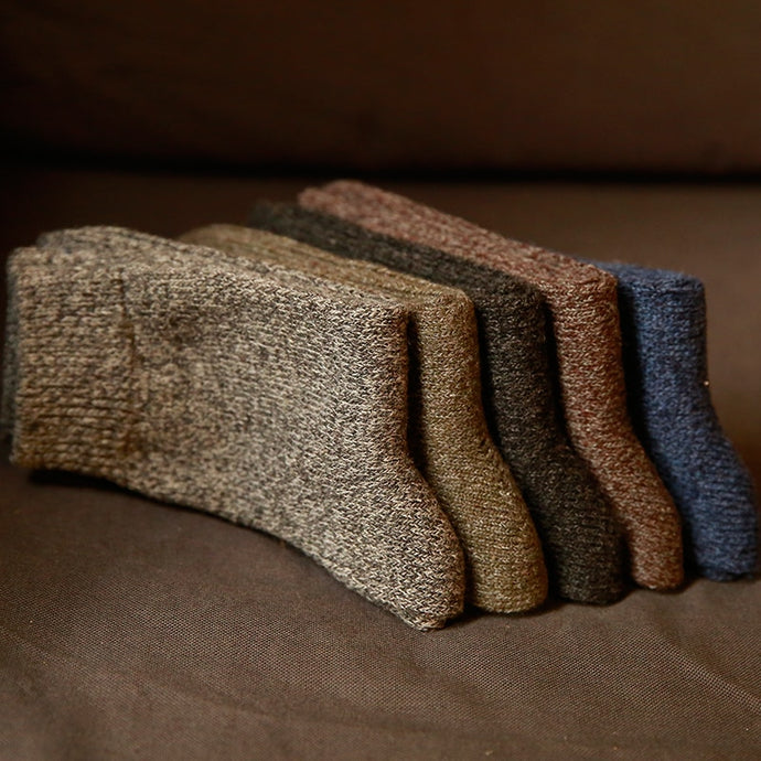Nomadic Gentleman Wool Socks 5 Pack
