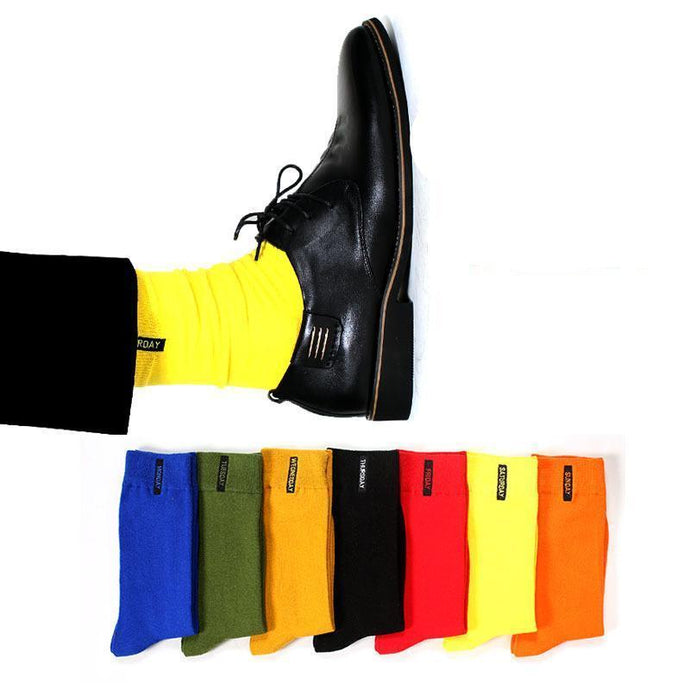 Nomadic Gentleman Socks Collection III - Days of the Week