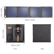 Load image into Gallery viewer, 14W Solar Power Charger
