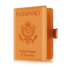 Load image into Gallery viewer, RFID Blocking Passport Wallet