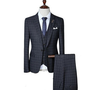 "Nomadic Gentleman ""Windowpane"" Suit"