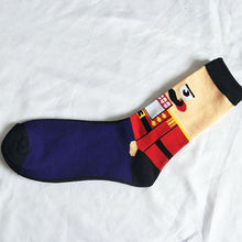 Load image into Gallery viewer, Nomadic Gentleman Christmas Holiday Socks