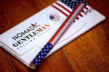 Load image into Gallery viewer, Nomadic Gentleman Rolling Papers - USA Flag