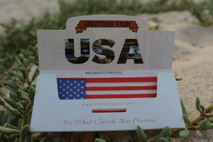 Nomadic Gentleman Rolling Papers - USA Flag