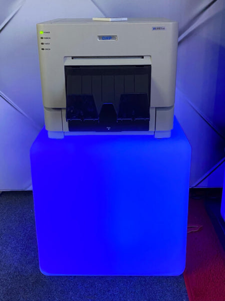 LED Cube Printer Stand