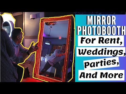 Mirror 2 Photo Booth - 55 Inch