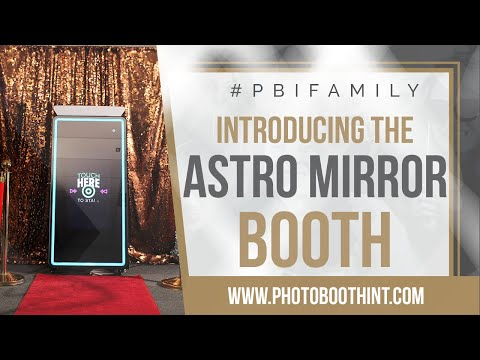 Astro Mirror Photo Booth