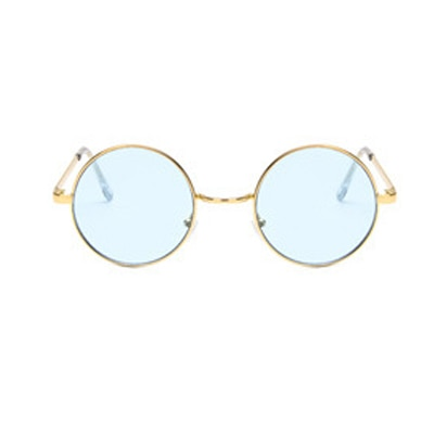 Colorful Shades Vintage Round Sunglasses UV400