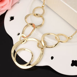Classical Large Circle Necklace