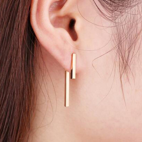 Minimalist Statement Earrings