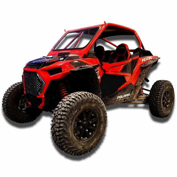 50 Caliber Racing RZR XP 1000 Lower Door Skin Inserts - 2 Seater Models - Kombustion Motorsports