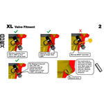 Apex Performance Products 3.0 Rapid Precision Valve (Single) - Kombustion Motorsports