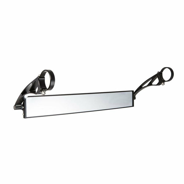 "AXIA 17"" Wide Panoramic Rearview Mirror - 6"" Long Arms - Kombustion Motorsports"