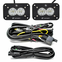 Baja Designs S2 Sport Flush Mount LED Wide Cornering Backup Kit - Kombustion Motorsports
