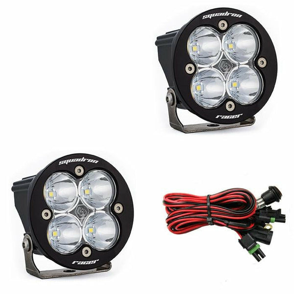 Baja Designs Squadron-R Racer Edition Spot LED Pair - Kombustion Motorsports