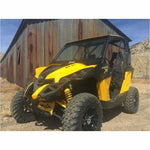 Bent Metal Can-Am Maverick XRS Vented Windshield - Kombustion Motorsports