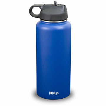 Blue Coolers 32 oz. Steel Double-wall Vacuum Insulated Flask (Flip Top Lid)