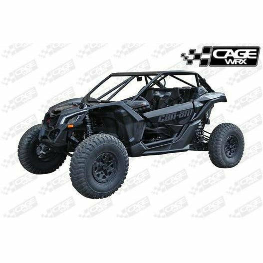 "CageWrx CANAM MAVERICK X3 ""SUPER SHORTY"" CAGE KIT - Kombustion Motorsports"
