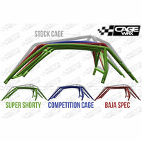 "CageWrx ""COMPETITION CAGE"" Cage Kit RZR XP 1000 (2019+) / XP Turbo S (2018+) - Kombustion Motorsports"