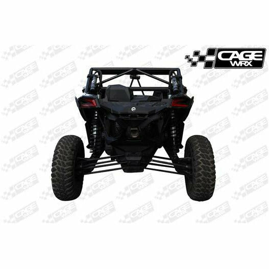 "CageWrx MAVERICK X3 ""SUPER SHORTY"" ASSEMBLED - RAW FINISH - Kombustion Motorsports"