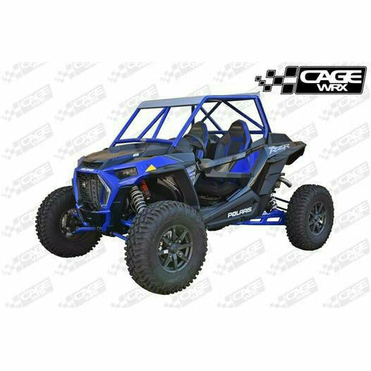 "CageWrx RZR XP 1000 (2019+) / XP TURBO S ""BAJA SPEC"" ASSEMBLED - RAW FINISH (INCLUDES ROOF) - Kombustion Motorsports"