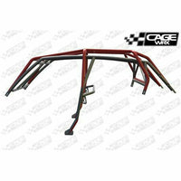 "CageWrx RZR XP4 1000 ""SUPER SHORTY"" ASSEMBLED - RAW FINISH (INCLUDES ROOF) - Kombustion Motorsports"