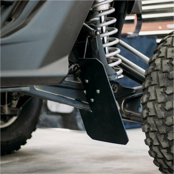 Cognito Rock Guard Kit for OEM Trailing Arms - Can Am Maverick X3 - Kombustion Motorsports